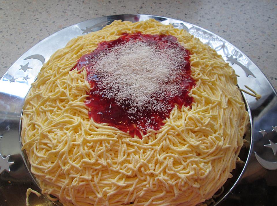 Susser Spaghettikuchen Von Fechter Chefkoch De