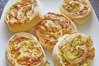 Kartoffel - Schinken - Schnecken 2