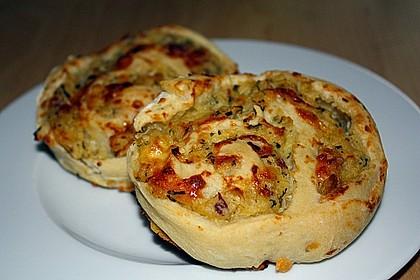 Kartoffel - Schinken - Schnecken