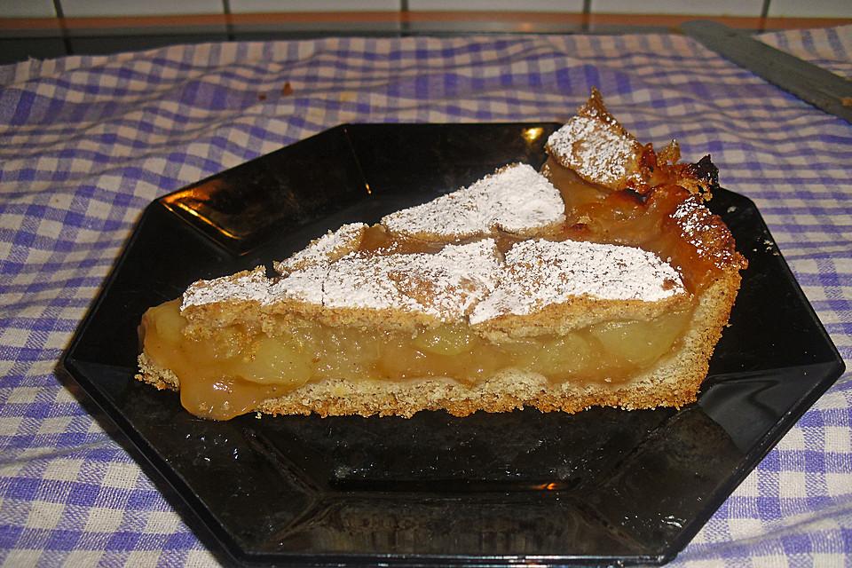 Apfel Pudding Kuchen Von Lenki Chefkoch De