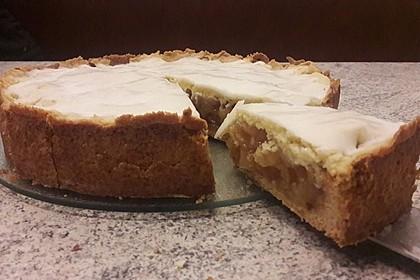 Gedeckter Apfelkuchen (Bild)