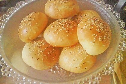 Türkische gefüllte Brötchen 12