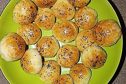 Türkische gefüllte Brötchen 10