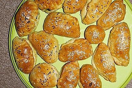 Türkische gefüllte Brötchen 8