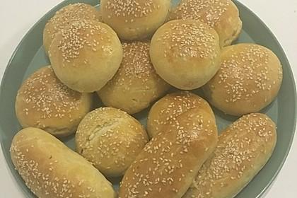 Türkische gefüllte Brötchen 6