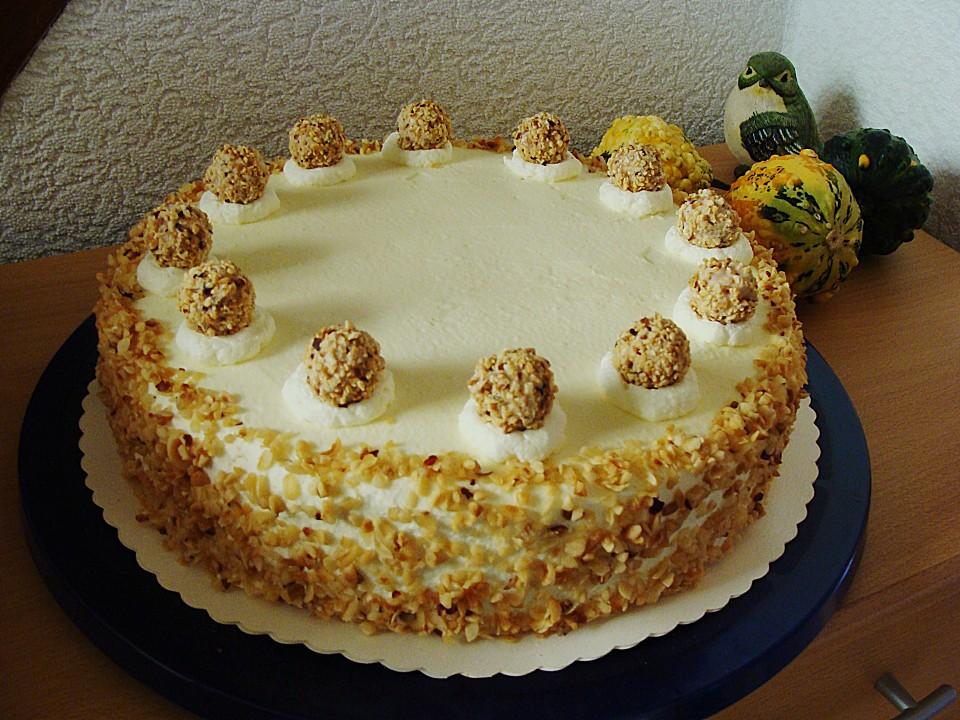 Haselnuss Sahne Torte Von Rosenbaum70 Chefkoch De