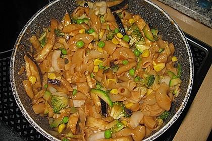 Rote Oregano - Nudeln mit Gemüse