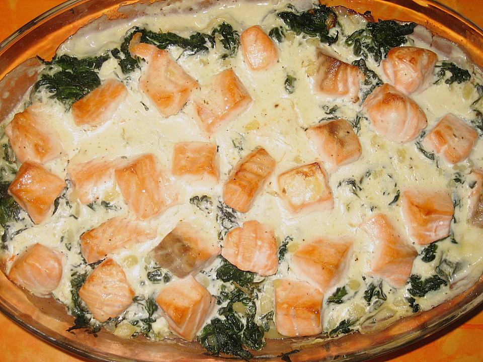 Spinat Kartoffel Lachs Auflauf Von Sandy2509 Chefkoch