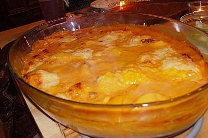 Pfirsich - Sahnehähnchen 4