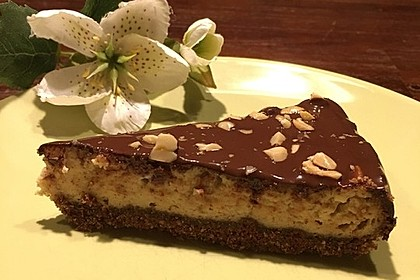 All american Chocolate and Peanut Butter Cheesecake 9