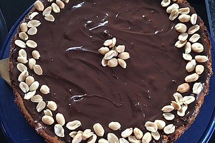 All american Chocolate and Peanut Butter Cheesecake 20
