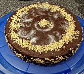 All american Chocolate and Peanut Butter Cheesecake (Bild)