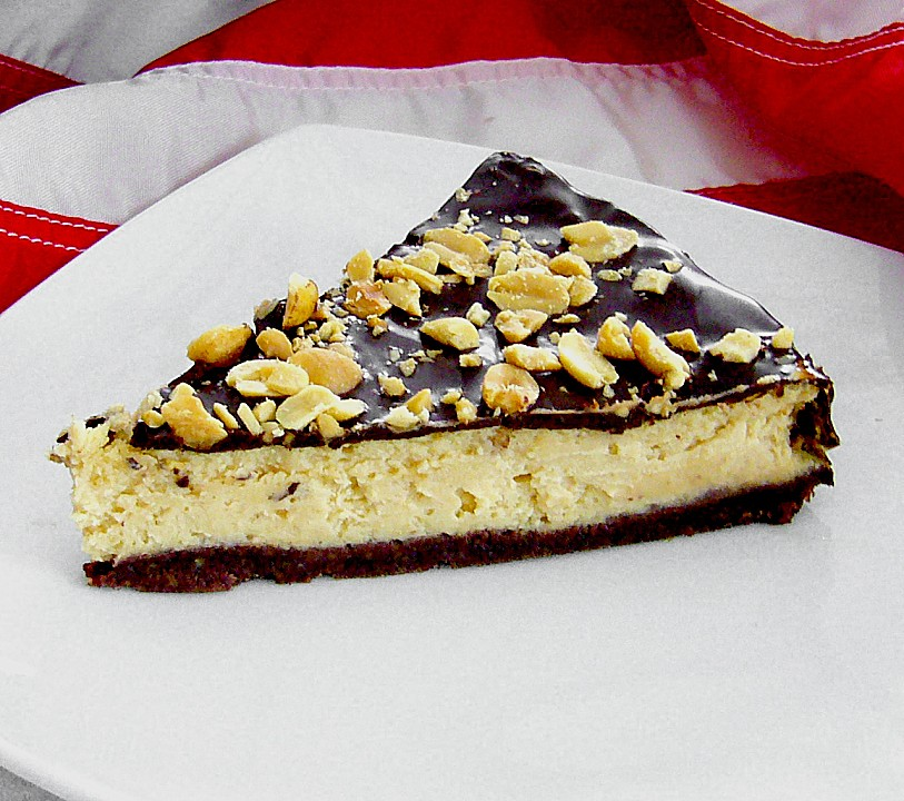 All American Chocolate And Peanut Butter Cheesecake Chefkoch De