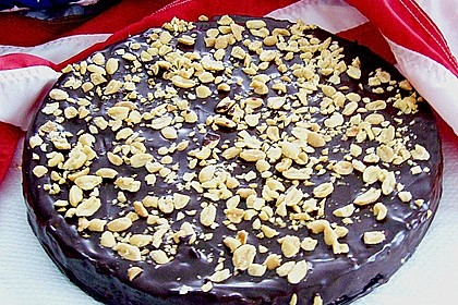 All american Chocolate and Peanut Butter Cheesecake 4