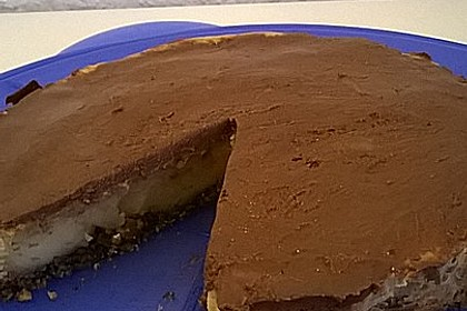 All american Chocolate and Peanut Butter Cheesecake 30