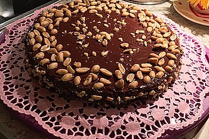 All american Chocolate and Peanut Butter Cheesecake 10