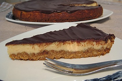 All american Chocolate and Peanut Butter Cheesecake 5