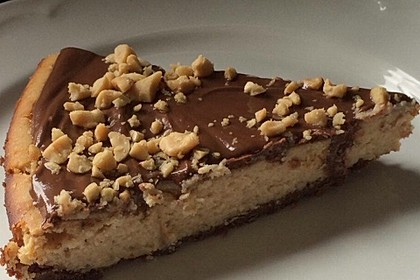 All american Chocolate and Peanut Butter Cheesecake 8