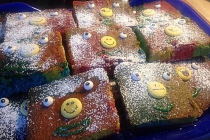Papageienkuchen mit saurer Sahne 10