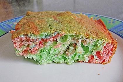 Papageienkuchen mit saurer Sahne 35
