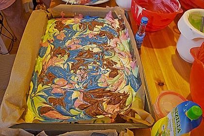 Papageienkuchen mit saurer Sahne 19