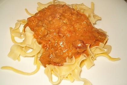 Schnelle Soße Bolognese für Nudeln oder Lasagne 5