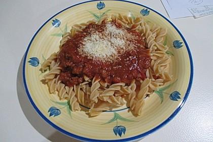 Schnelle Soße Bolognese für Nudeln oder Lasagne 2