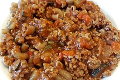 Schnelle Soße Bolognese für Nudeln oder Lasagne 3