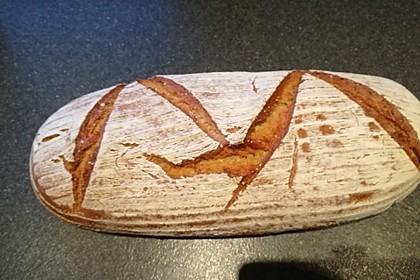 Dinkel - Roggen - Sauerteig - Brot a la Mäusle 17