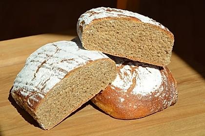 Dinkel - Roggen - Sauerteig - Brot a la Mäusle 14