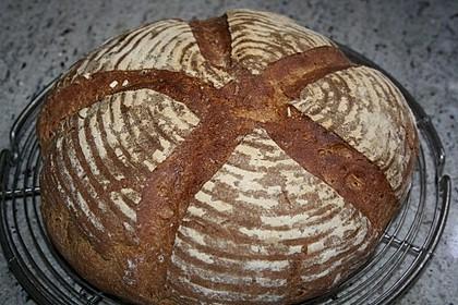 Dinkel - Roggen - Sauerteig - Brot a la Mäusle