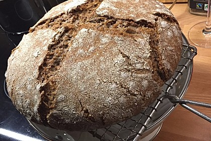 Dinkel - Roggen - Sauerteig - Brot a la Mäusle 11