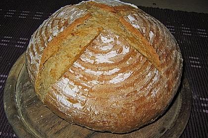Dinkel - Roggen - Sauerteig - Brot a la Mäusle 6