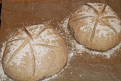 Dinkel - Roggen - Sauerteig - Brot a la Mäusle 48