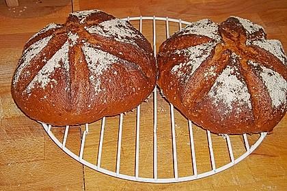 Dinkel - Roggen - Sauerteig - Brot a la Mäusle 27