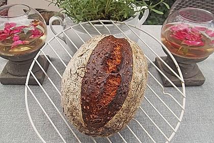 Dinkel - Roggen - Sauerteig - Brot a la Mäusle 9