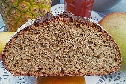 Dinkel - Roggen - Sauerteig - Brot a la Mäusle 3