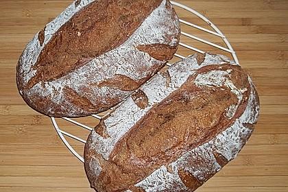 Dinkel - Roggen - Sauerteig - Brot a la Mäusle 28