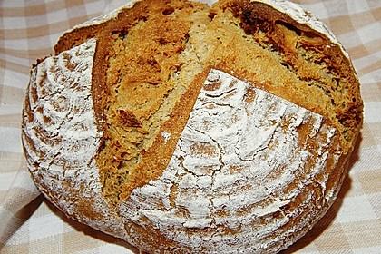 Dinkel - Roggen - Sauerteig - Brot a la Mäusle 1