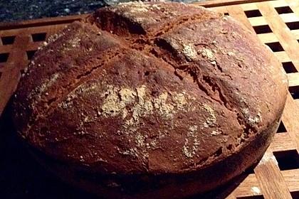 Dinkel - Roggen - Sauerteig - Brot a la Mäusle (Bild)