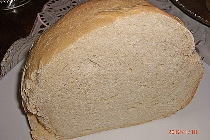 Weißbrot im Brotbackautomaten 2