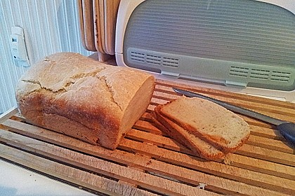Weißbrot im Brotbackautomaten 3