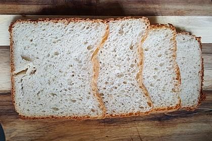 Weißbrot im Brotbackautomaten 4