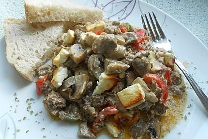 Türkischer Hackfleisch-Auflauf mit Schafskäse 45