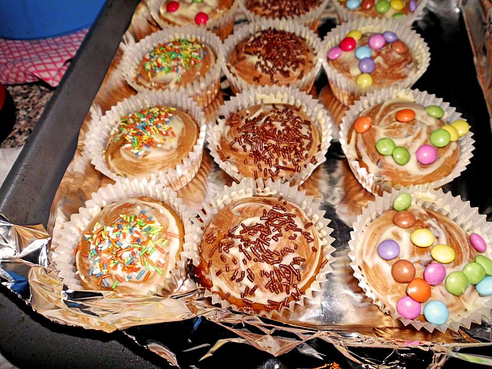 Smarties Muffins Von Ankesuper Chefkoch De