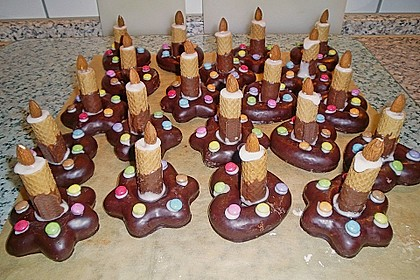 Lebkuchen - Kerze 12
