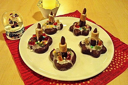 Lebkuchen - Kerze 33
