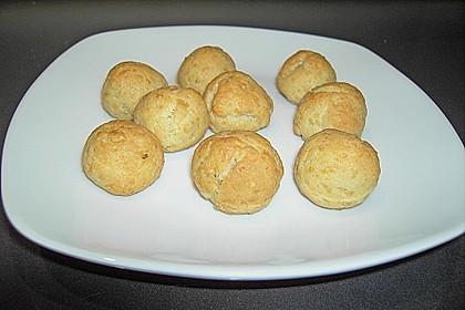 Oliven im Parmesan - Teig - Mantel 3