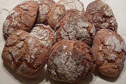 Roggen - Kartoffel - Buttermilch - Fladen 21