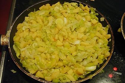 Fisch mit Quitten - Lauch - Gemüse 1